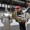May 26: Tony Kannaan winner of the 97th running of the Indianapolis 500 mile race.