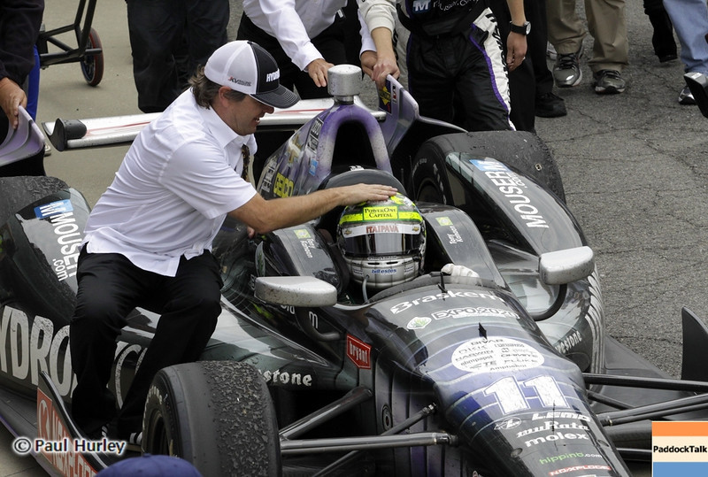 May 26: Tony Kanaan during the 97th running of the Indianapolis 500 mile race.