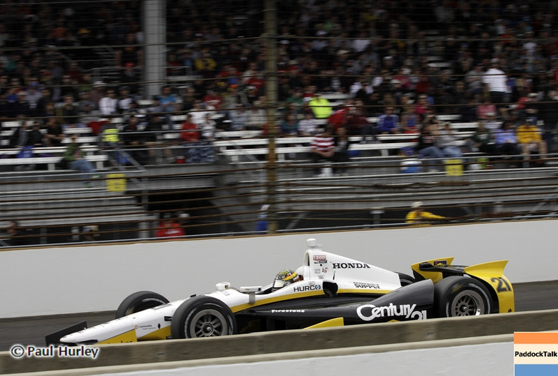 May 26: Josef Newgarden during the 97th running of the Indianapolis 500 mile race.