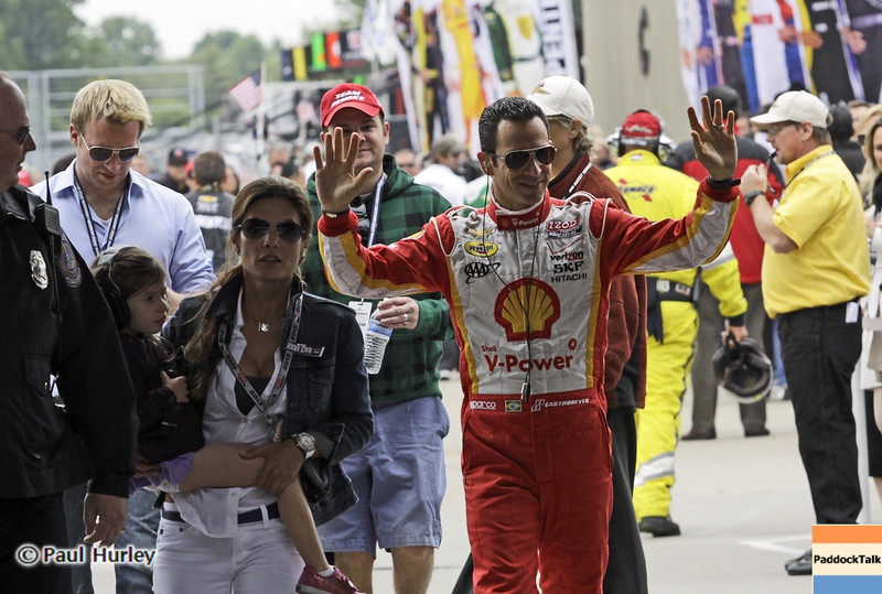 May 26: Helio Castroneves during the 97th running of the Indianapolis 500 mile race.