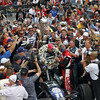 May 26: Victory lane during the 97th running of the Indianapolis 500 mile race.