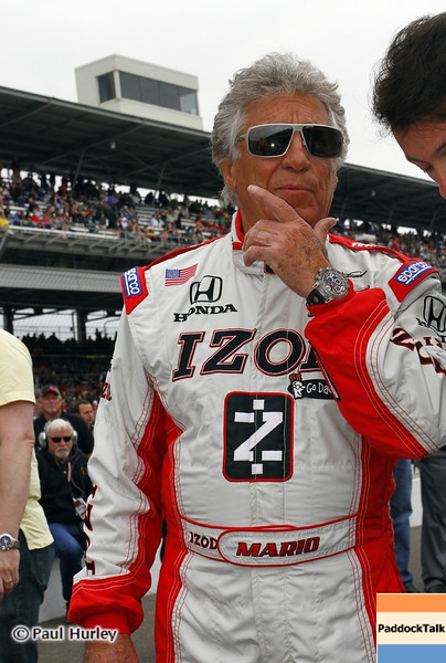 May 26: Mario Andretti during the 97th running of the Indianapolis 500 mile race.