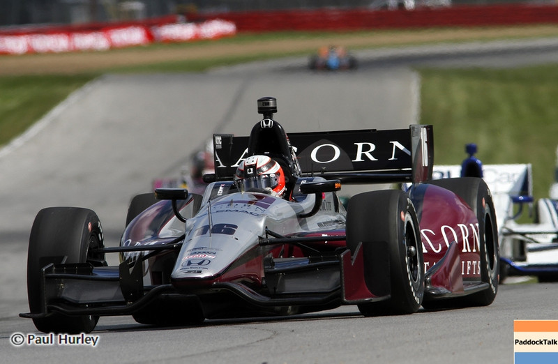 August 4: James Jakes during the Honda Indy 200 at Mid-Ohio