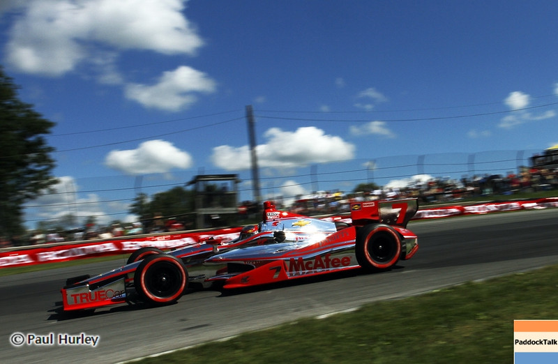 August 4: Sebastien Bourdais during the Honda Indy 200 at Mid-Ohio