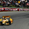 August 4: Ryan Hunter-Reay during the Honda Indy 200 at Mid-Ohio