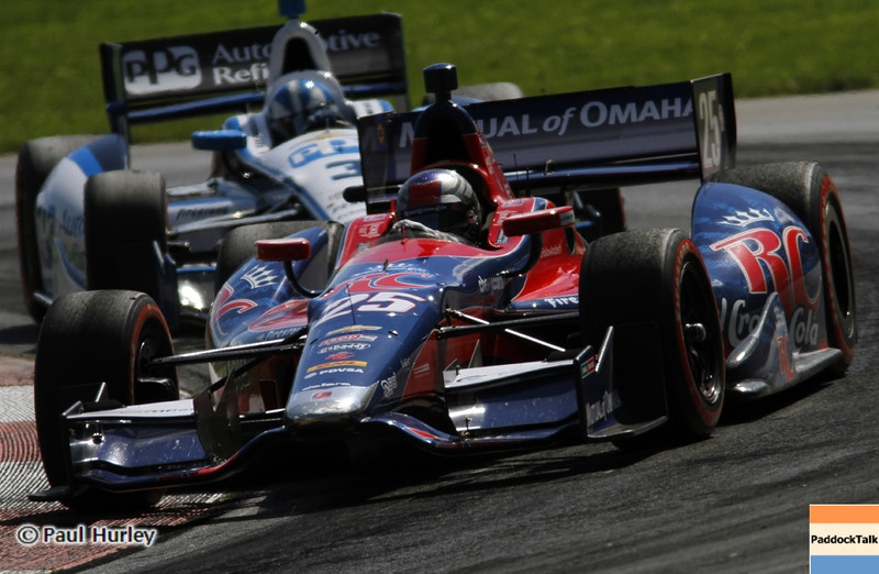 August 4: Marco Andretti during the Honda Indy 200 at Mid-Ohio.