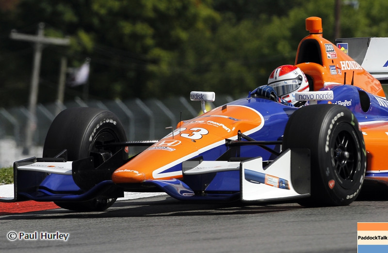 August 4: Charlie Kimball during the Honda Indy 200 at Mid-Ohio
