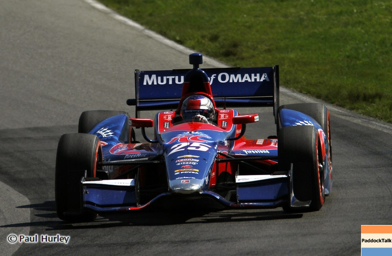 August 4: Marco Andretti during the Honda Indy 200 at Mid-Ohio