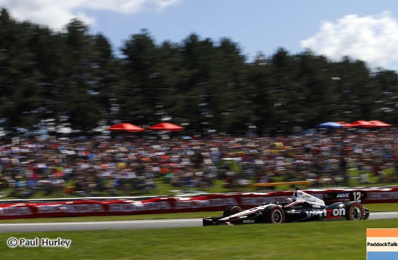 August 4: Will Power during the Honda Indy 200 at Mid-Ohio