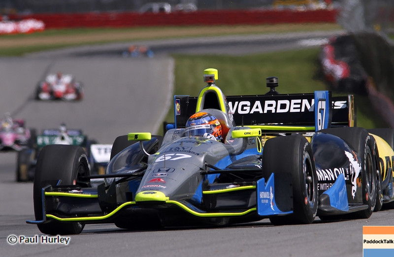 August 4: Josef Newgarden during the Honda Indy 200 at Mid-Ohio