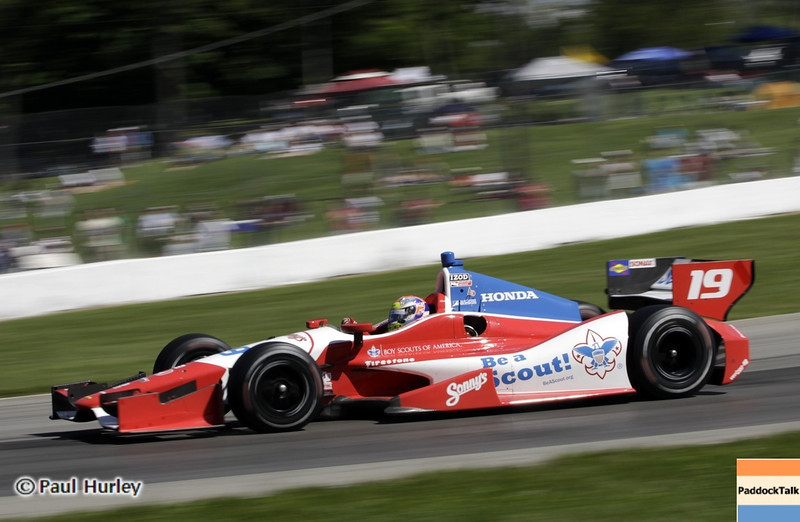 August 4: Justin Wilson during the Honda Indy 200 at Mid-Ohio