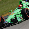 August 4: James Hinchcliffe during the Honda Indy 200 at Mid-Ohio