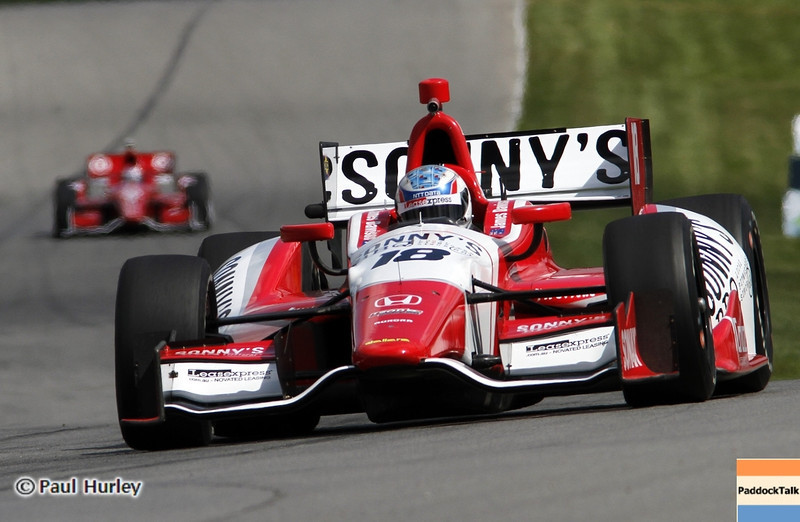 August 4: James Davison during the Honda Indy 200 at Mid-Ohio