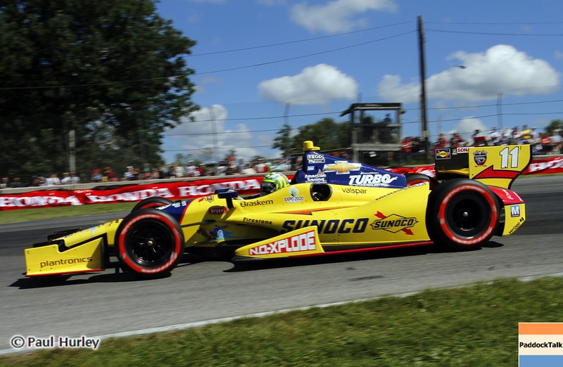 August 4: Tony Kanaan during the Honda Indy 200 at Mid-Ohio