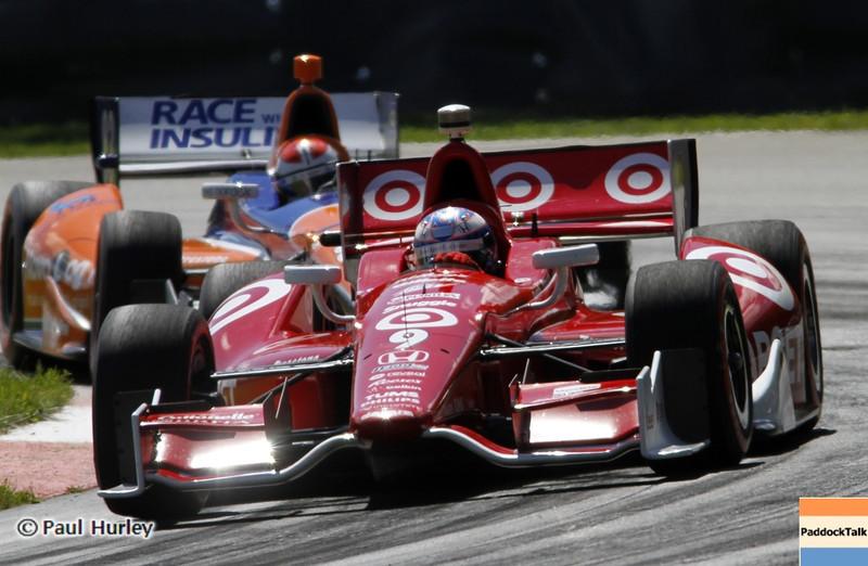 August 4: Scott Dixon during the Honda Indy 200 at Mid-Ohio