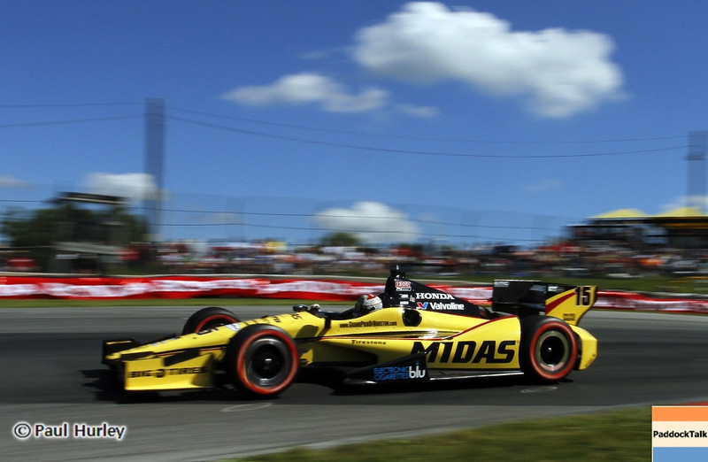 August 4: Graham Rahal during the Honda Indy 200 at Mid-Ohio