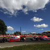 August 4: Sebastien Bourdais Marco Andretti during the Honda Indy 200 at Mid-Ohio