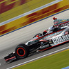 June 15: Ryan Briscoe during the Izod IndyCar series race at the Milwaukee Mile.