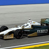 June 15: Ed Carpenter during the Izod IndyCar series race at the Milwaukee Mile.