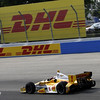 June 15: Ryan Hunter-Reay during the Izod IndyCar series race at the Milwaukee Mile.