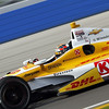 June 15:Ryan Hunter-Reay during the Izod IndyCar series race at the Milwaukee Mile.