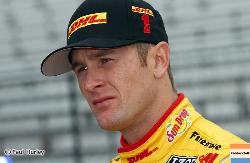 March 23: Ryan Hunter-Reay during IndyCar qualifying at the Honda Grand Prix of St. Petersburg.