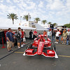 March 22:The paddock at IndyCar practice at the Honda Grand Prix of St. Petersburg.