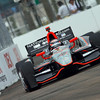 March 23: J.R. Hildebrand during IndyCar qualifying at the Honda Grand Prix of St. Petersburg.