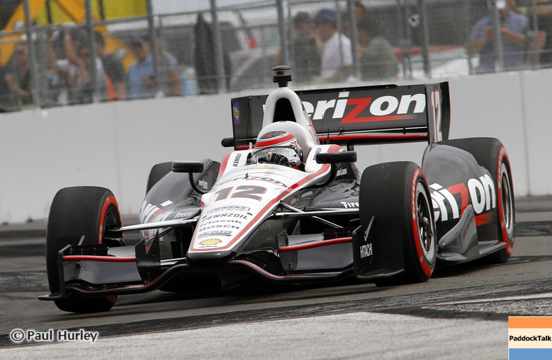 March 24: Will Power during the Honda Grand Prix of St. Petersburg IndyCar race.