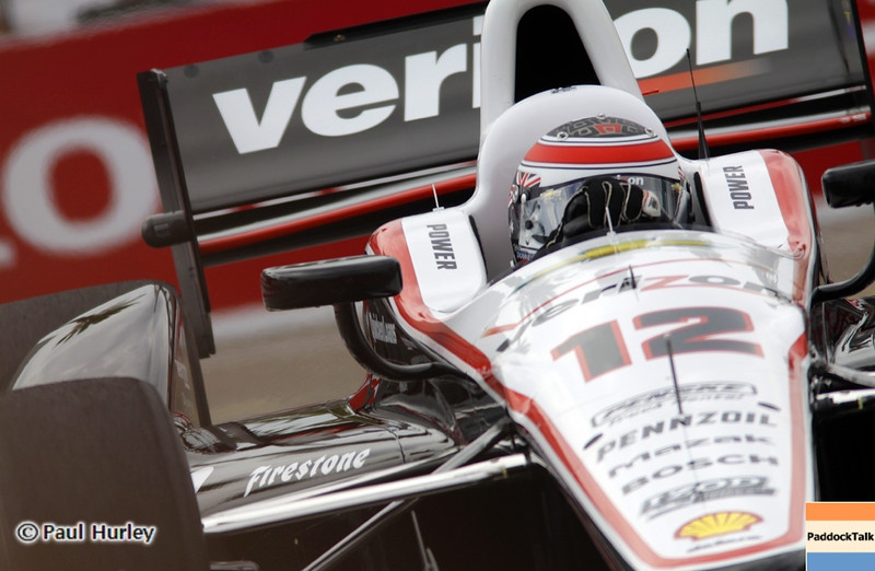 March 22:Will Power at IndyCar practice at the Honda Grand Prix of St. Petersburg.