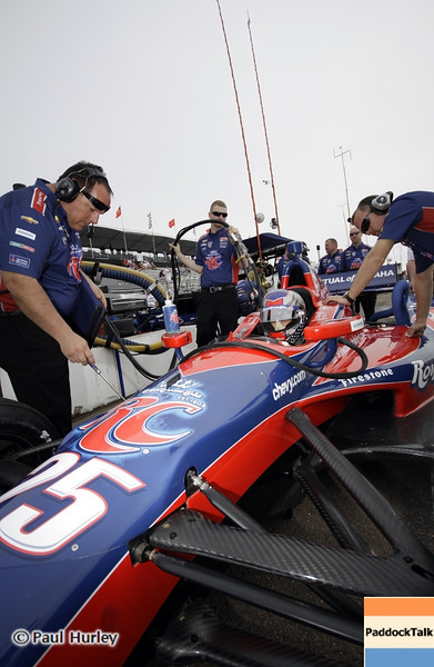 March 23:Marco Andretti during IndyCar qualifying at the Honda Grand Prix of St. Petersburg.