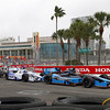 March 24: Alex Tagliani during the Honda Grand Prix of St. Petersburg IndyCar race.