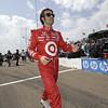 March 22: Dario Franchitti at IndyCar practice at the Honda Grand Prix of St. Petersburg.