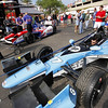March 22: The paddock at IndyCar practice at the Honda Grand Prix of St. Petersburg.
