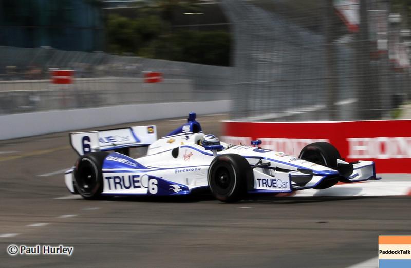 March 22: Sebastain Saavedra at IndyCar practice at the Honda Grand Prix of St. Petersburg.