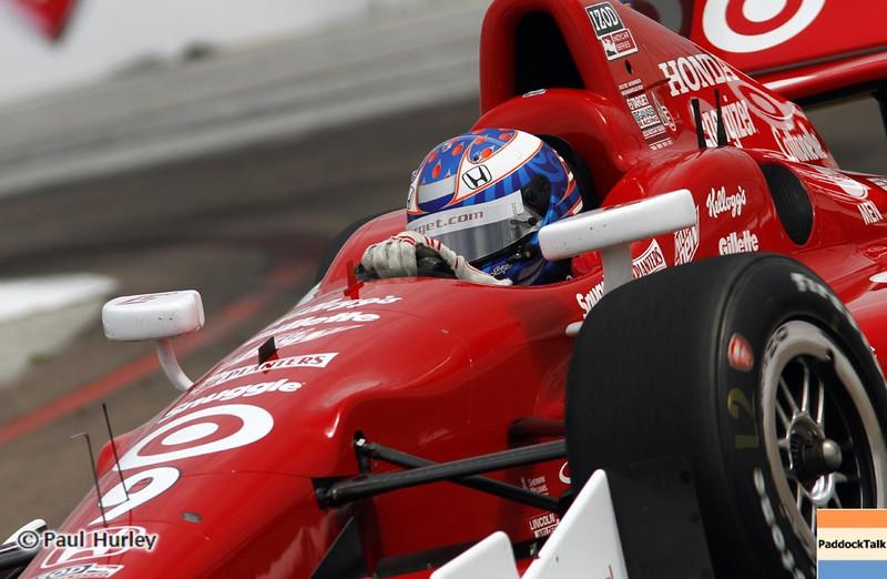 March 22: Scott Dixon at IndyCar practice at the Honda Grand Prix of St. Petersburg.