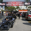 March 22 :Pit lane at IndyCar practice at the Honda Grand Prix of St. Petersburg.