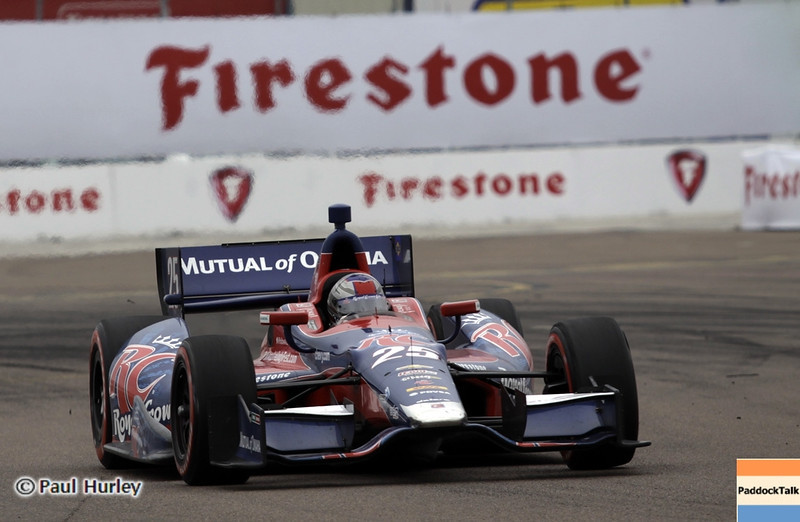 March 24: Marco Andretti during the Honda Grand Prix of St. Petersburg IndyCar race.