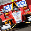 March 22: E.J. Viso at IndyCar practice at the Honda Grand Prix of St. Petersburg.