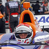 March 23: Charlie Kimball during IndyCar qualifying at the Honda Grand Prix of St. Petersburg.