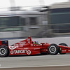 March 23:  Dario Franchitti during IndyCar qualifying at the Honda Grand Prix of St. Petersburg.