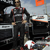 March 22: Helio Castroneves at IndyCar practice at the Honda Grand Prix of St. Petersburg.