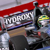 March 22: Tony Kanaan at IndyCar practice at the Honda Grand Prix of St. Petersburg.
