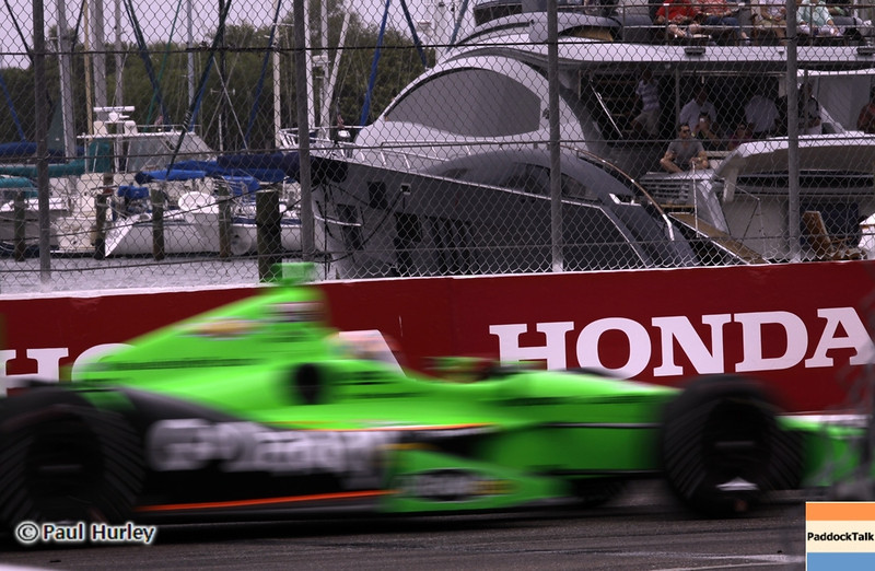 March 24: James Hinchcliffe during the Honda Grand Prix of St. Petersburg IndyCar race.