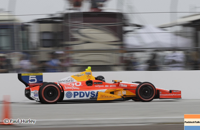 March 24: E.J. Viso during the Honda Grand Prix of St. Petersburg IndyCar race.