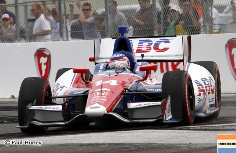 March 24: Takuma Sato during the Honda Grand Prix of St. Petersburg IndyCar race.