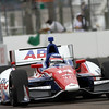 March 23: Takuma Sato during IndyCar qualifying at the Honda Grand Prix of St. Petersburg.
