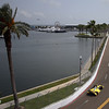 March 23: Bay view during IndyCar qualifying at the Honda Grand Prix of St. Petersburg.