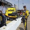 March 22:Bobby and Graham Rahal at IndyCar practice at the Honda Grand Prix of St. Petersburg.
