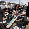 March 22: J.R. Hildebrand at IndyCar practice at the Honda Grand Prix of St. Petersburg.